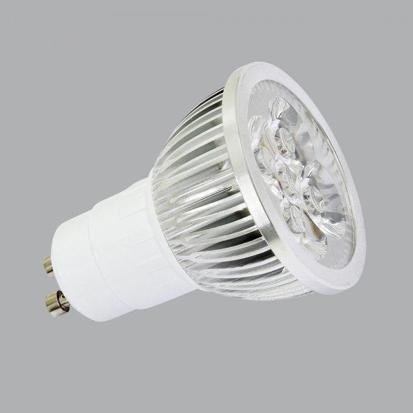 6 Watt Power LED für GU10-Fassungen
