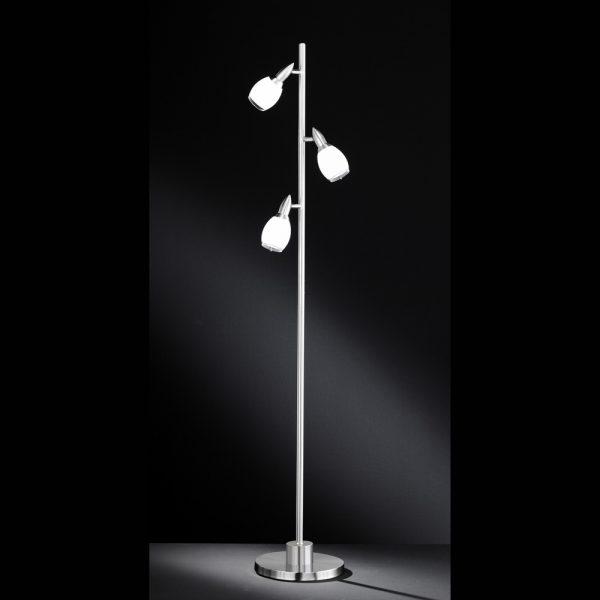 Stehlampe mit 3 LED Leuchten