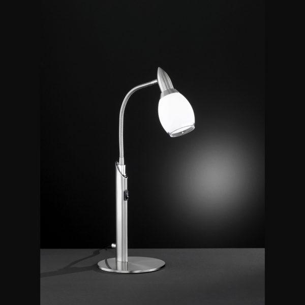 Moderne Tischlampe mit LED Technik