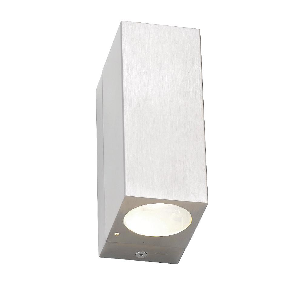 led wandlampe outdoor doppel spot. Black Bedroom Furniture Sets. Home Design Ideas
