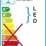 LED-Wandlampe mit grossem Leuchtelement