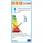 4er-LED-Strahler in glanz/matt-Design