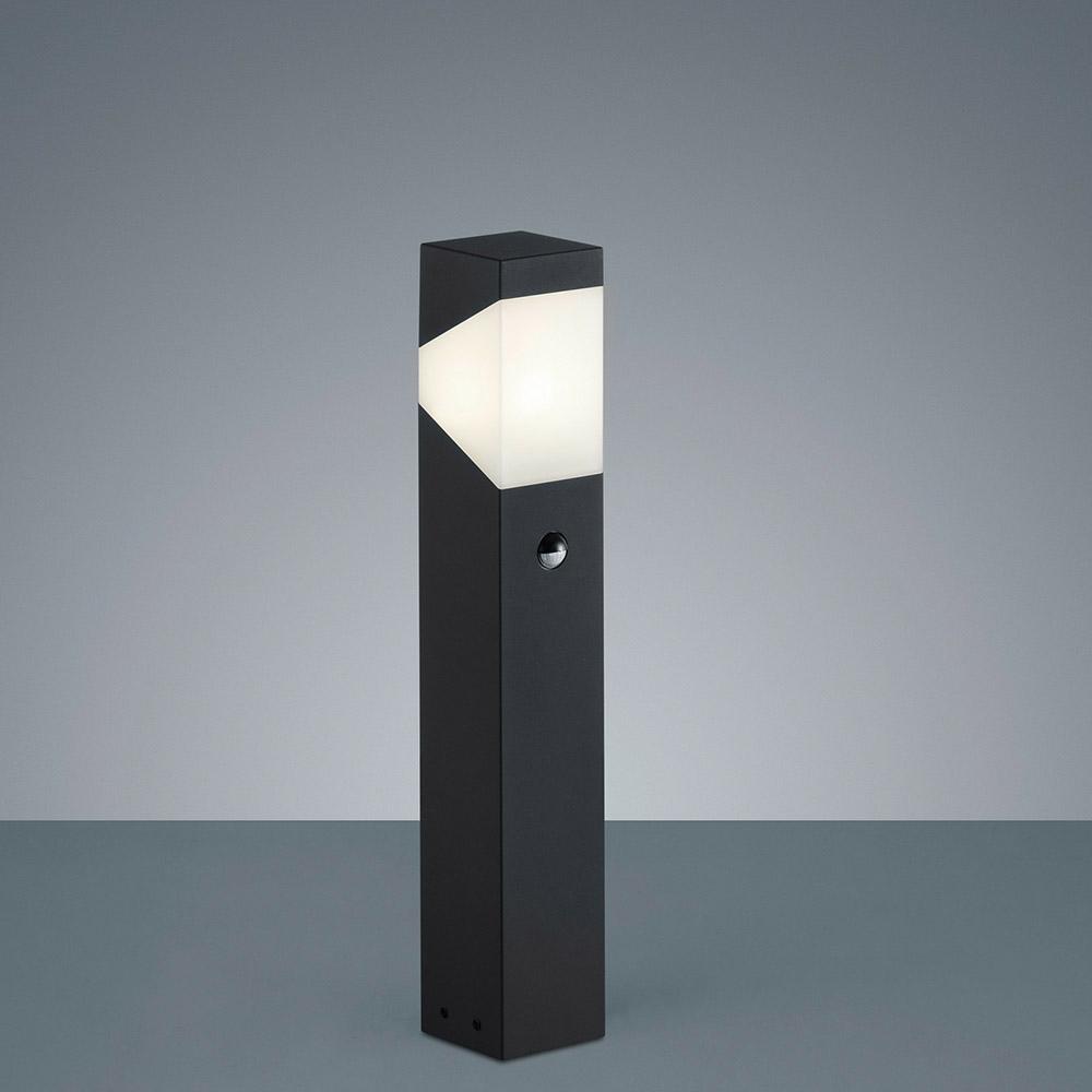 Led Stehlampe Aussen Bewegungssensor Schwarz