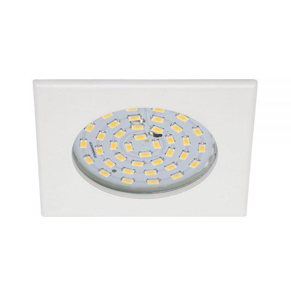 Einbauspot LED stark weiss eckig