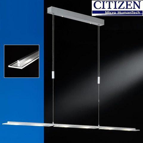 LED Pendelleuchte dimmbar Hängelampe höhenverstellbar-0