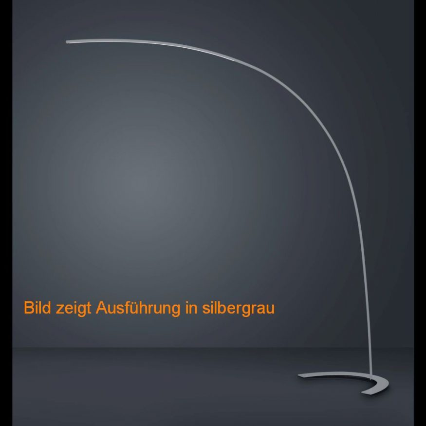 Led Stehlampe Mit Dimmer In Weiss