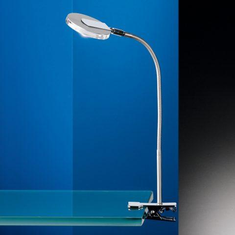 LED Klemmleuchte mit super Leselicht flexibel beweglich