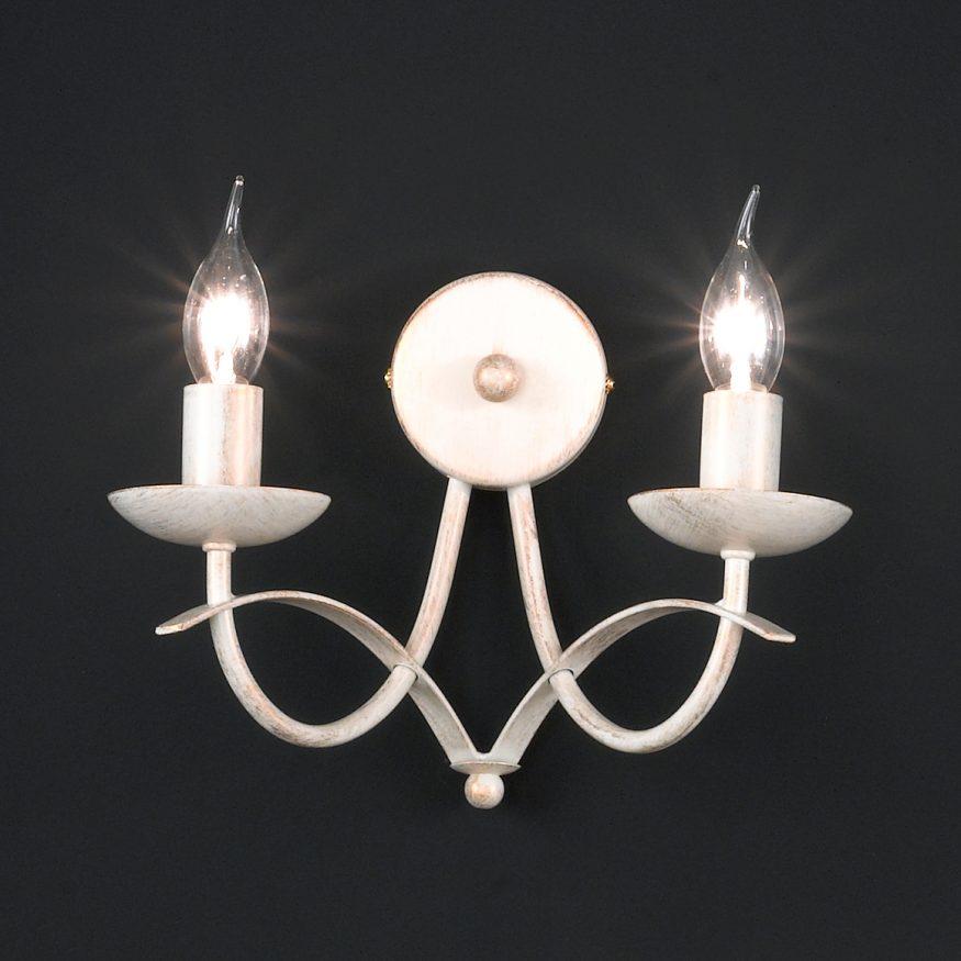 WANDLAMPE im Vintagelook frü gute Beleuchtung der Innenfassaden