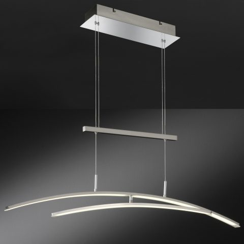 bogenleuchte zum hngen im esszimmer mit bester led beleuchtung - Esszimmer Lampen Led