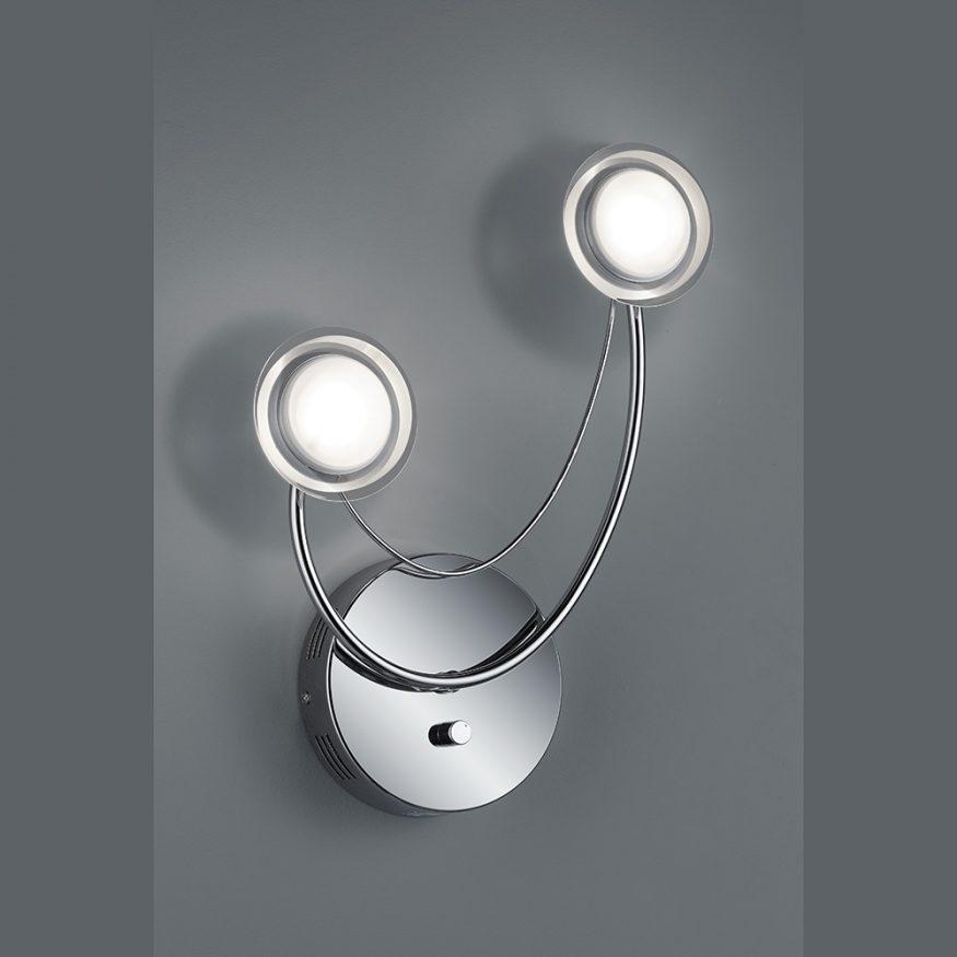 LED Wandlampe mit OSRAM Technik inkl. Dreh-Dimmer