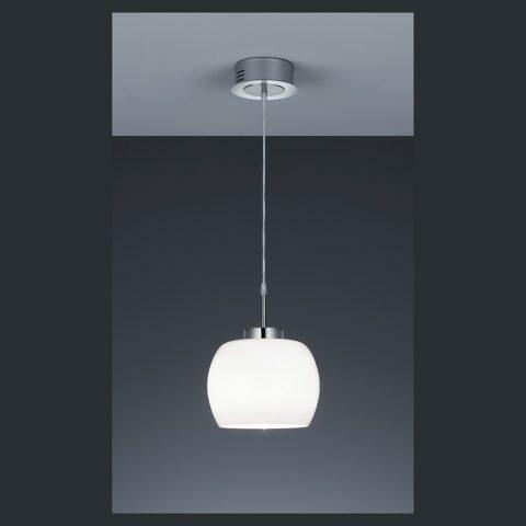 LED Hängeleuchte Kugel zur Esstischbeleuchtung