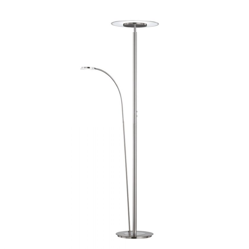 LED Stehlampe & Fluter mit Tast-Dimmer per Berührung
