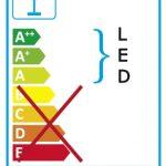 Moderne flache Aussen-Deckenleuchte mit LED