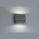 Aussen-Wandleuchte mit verstellbaren LED Spots