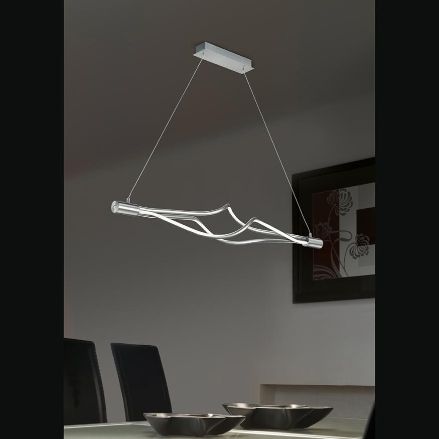 Esstisch led led decken pendel lampe wohnzimmer leuchte for Deckenlampe uber esstisch