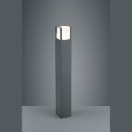 Aussen-Stehlampe halbhoch mit LED Licht